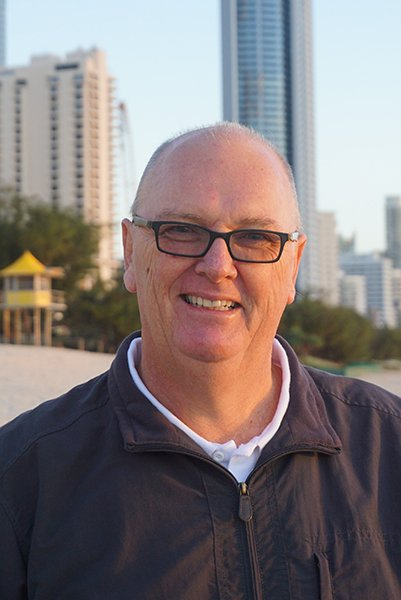 Fr Mike Upton Rector of Surfers Paradise Anglican Church